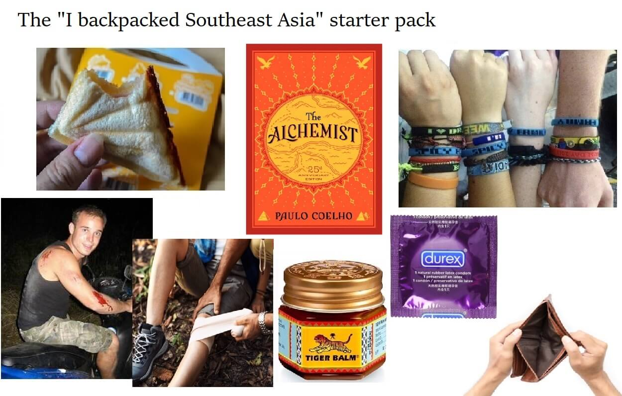 20 Signs You've Backpacked Southeast Asia