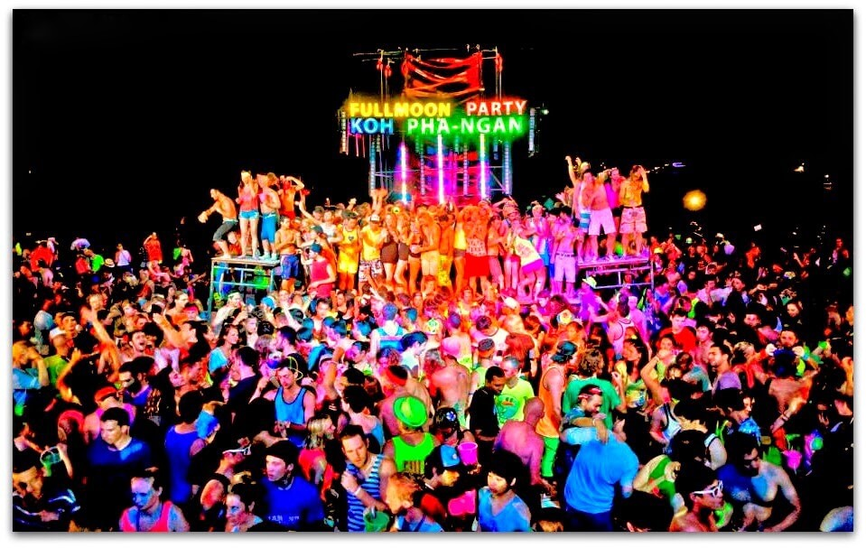 5 Reasons Why I Didn't Like The Full Moon Party